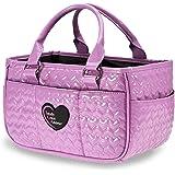 503c41cfc0e2 TGA Lavender Heart Ice Skating Bag Tennis Gym and Ballet Girls Athletic Bag