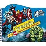Avengers assemble. Creactivity. Più di 100 adesivi, stencil, modellini. Ediz. illustrata