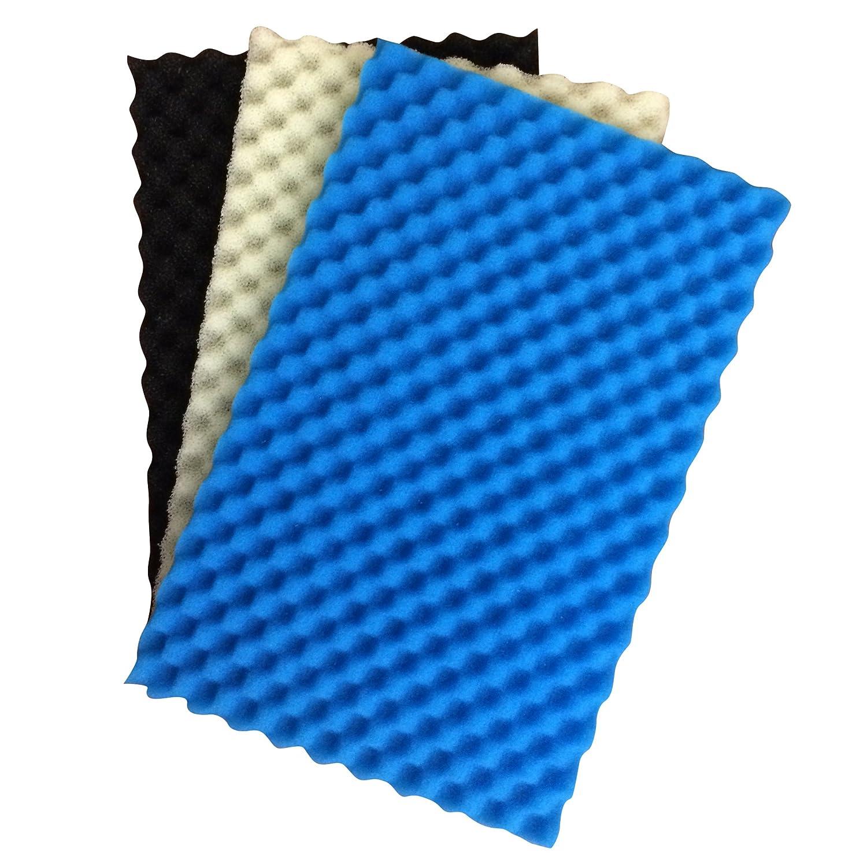 pond foam filter media pack set of 3 17 x 11