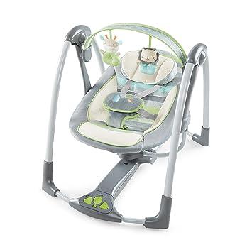 Amazon Ingenuity Power Adapt Portable Swing Vespergrey Baby
