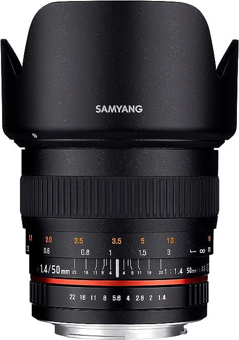 Samyang 1111105101 Objektiv Für Anschluss Sony Alpha Kamera