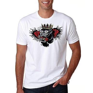 878e93ba LuckyTshirt Tattoo Conor Mcgregor Shirt T Art Ufc Mma Notorious Top Tshirt  Champion Funny Dethrone Ireland 54: Amazon.co.uk: Clothing