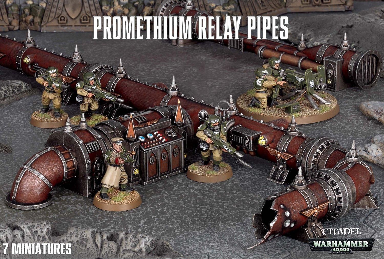 tienda de pescado para la venta Warhammer 40,000 Promethium Promethium Promethium Relay Pipes by Games Workshop  más descuento