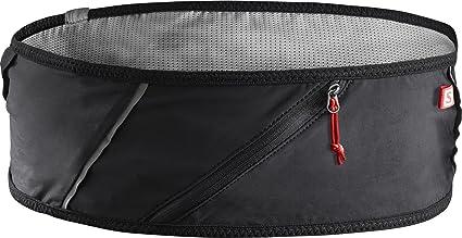 Salomon Pulse Belt Cinturón de Corriendo y Senderismo, Unisex Adulto, Negro, XS