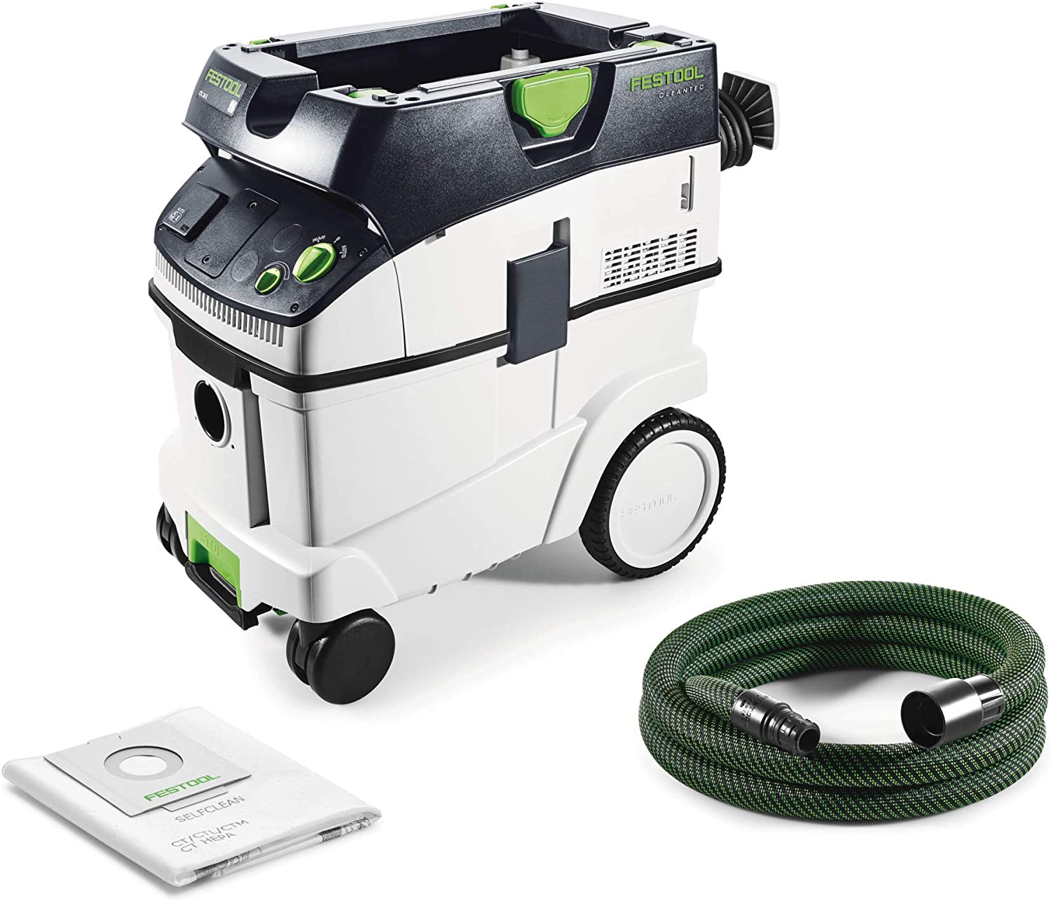 Festool CTL 36 E CLEANTEC - Aspirador 574965, negro/verde.: Amazon ...