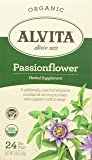 Alvita Tea Organic Herbal Passionflower Tea, 24 Count