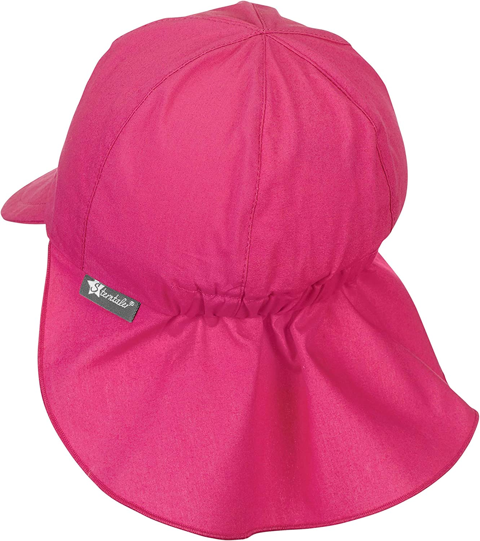 Sterntaler Schirmmütze mit Nackenschutz Mädchen Gr 45 500