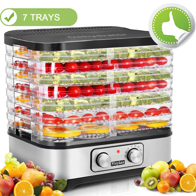 Food Dehydrator Machine, Jerky Dehydrators with 7-Tray, Knob Button by SuperPostman (Image #1)