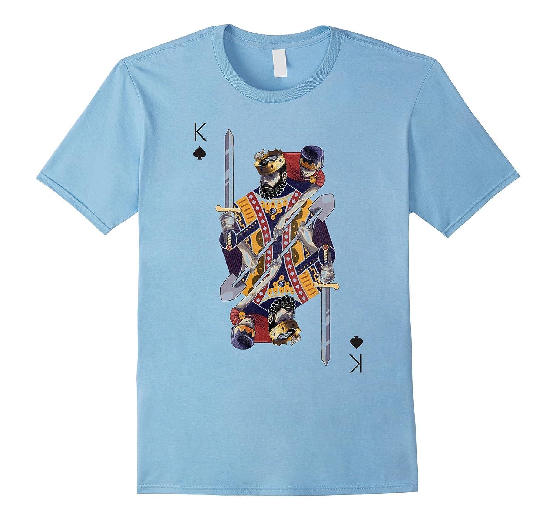 King of Spades Playing Card Poker Costume ...  sc 1 st  Colamaga & King of Spades Playing Card Poker Costume Card Tee Shirt-CL u2013 Colamaga