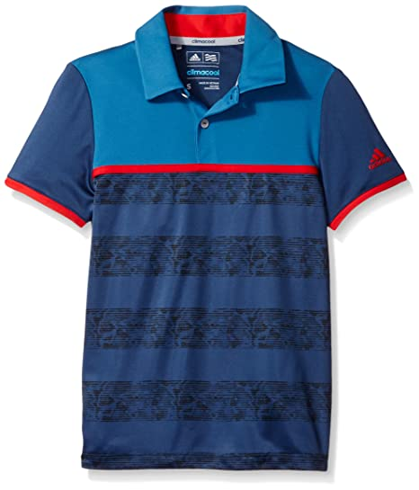 4aa732e2 Amazon.com: adidas Golf Boys Camo Stripe Polo Shirt: Sports & Outdoors