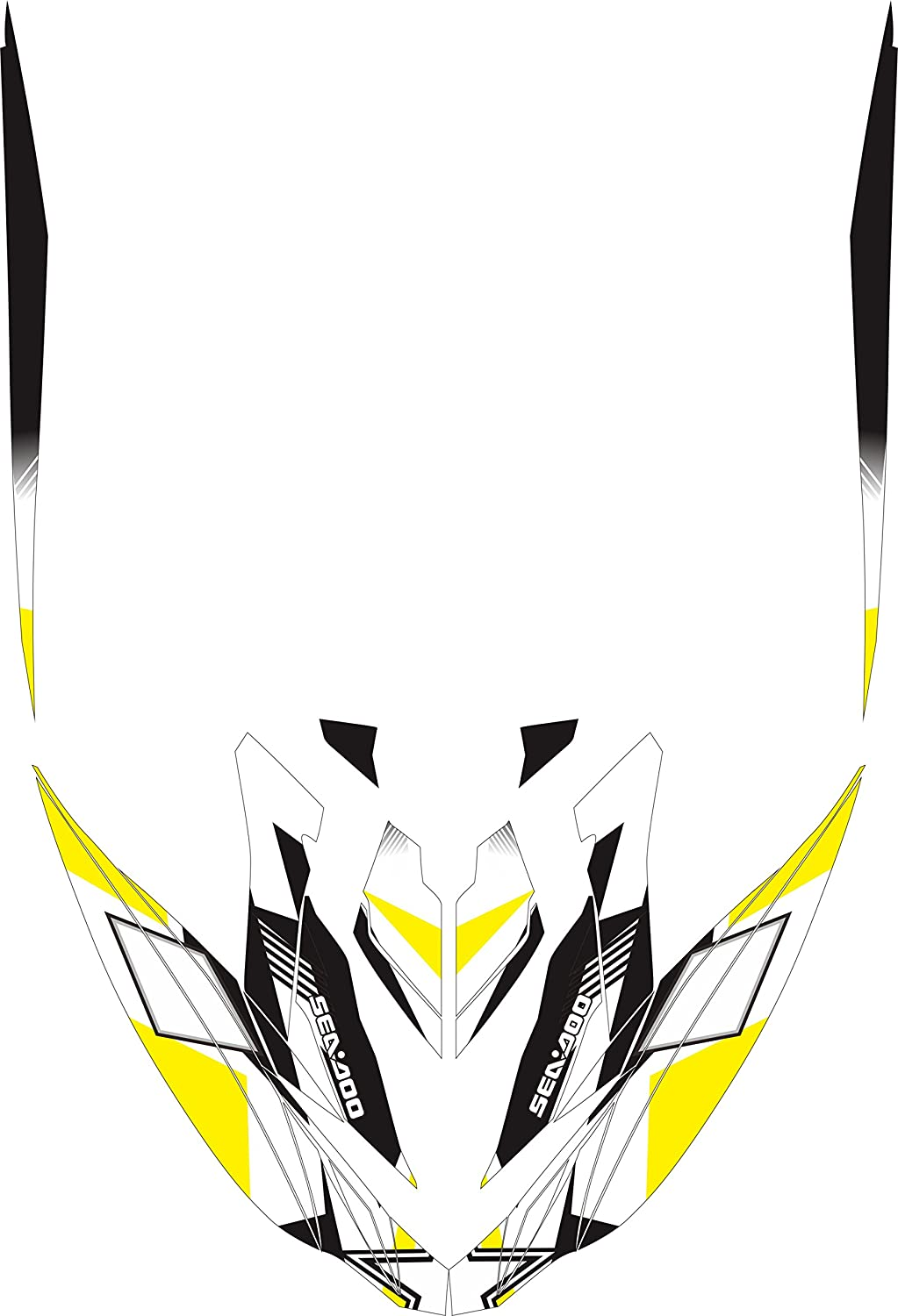 RXP 007 sea-doo rxp-x 260rs 2014 2015ジェットスキーデカールステッカーグラフィックキット B071GT6DCQ