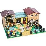 Le Toy Van Wooden Farmyard