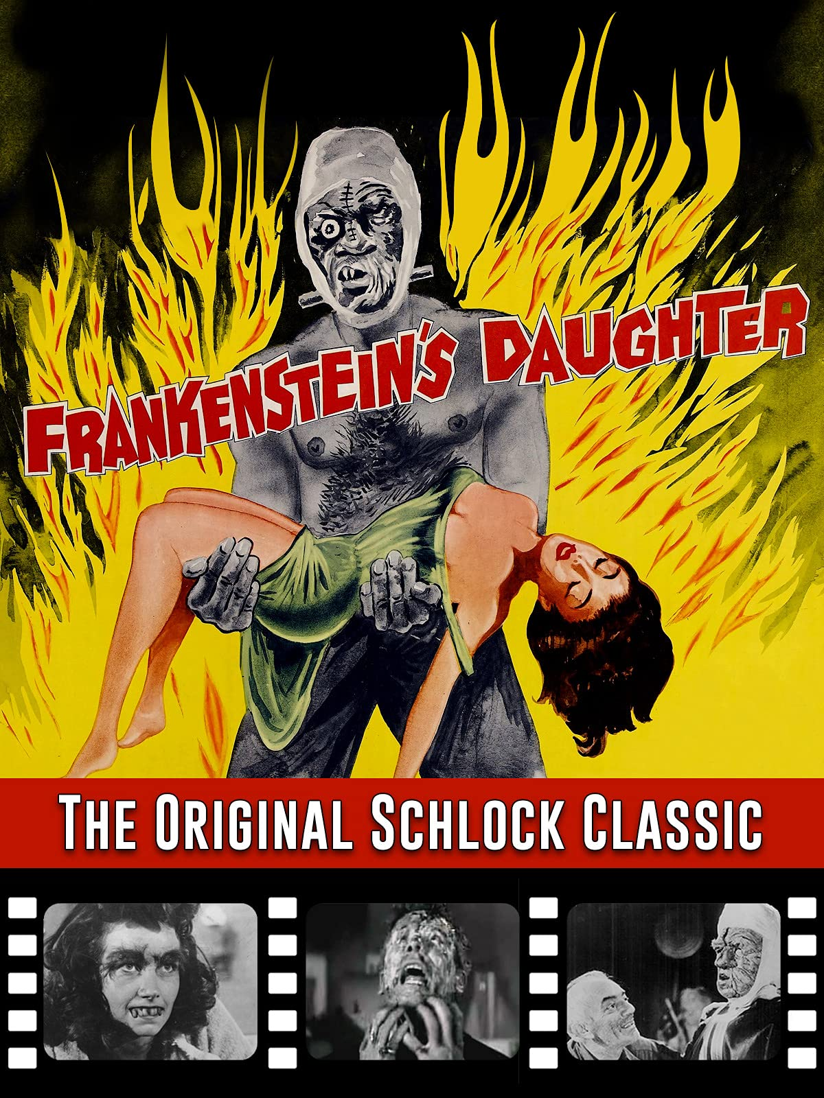 Frankenstein's Daughter - The Original Schlock Classic on Amazon Prime Video UK