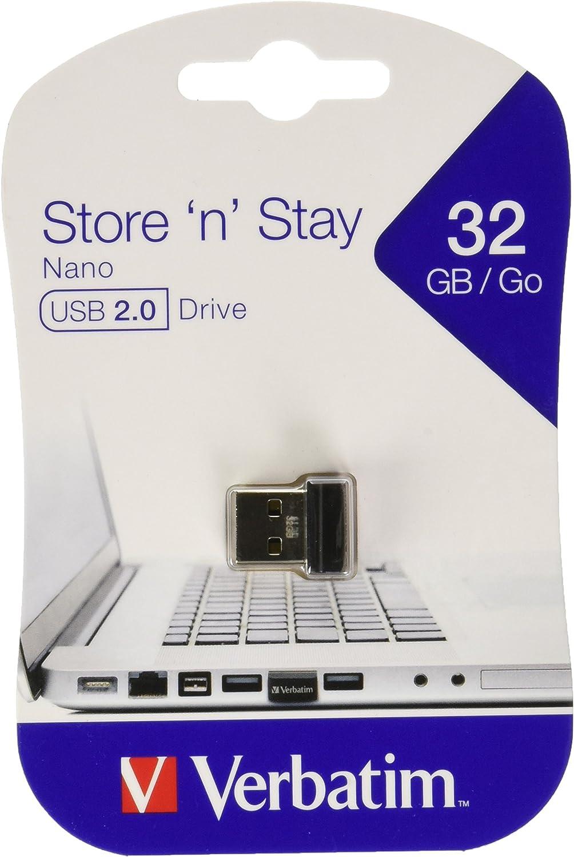 Verbatim Nano Store N Stay 32gb Speicherstick Usb Computer Zubehör