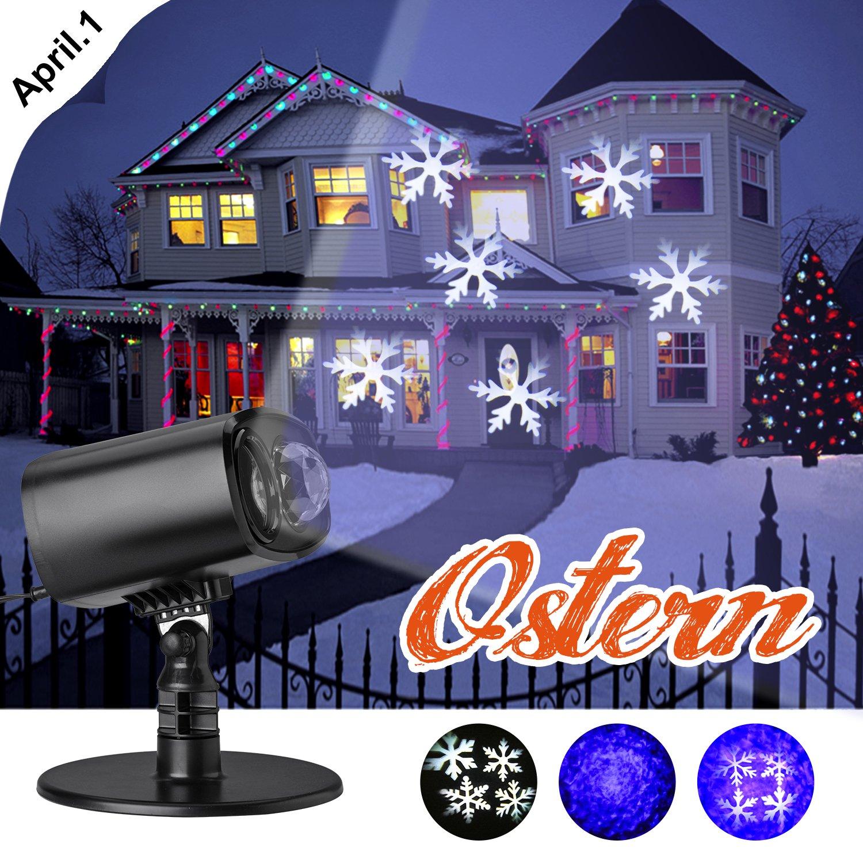 LED IP65 Weihnachtsbeleuchtung, Projektionslampe/Projektor ...
