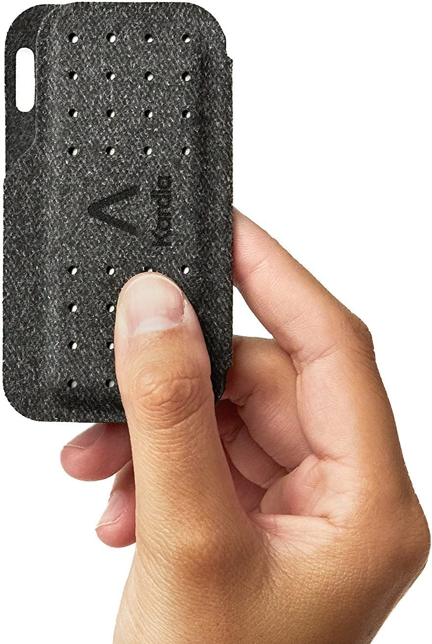 Alivecor Kardia Mobile Case - Magnetic Closure for Keeping The Device - Fits in Pockets or Purses or Attaches to Keyring