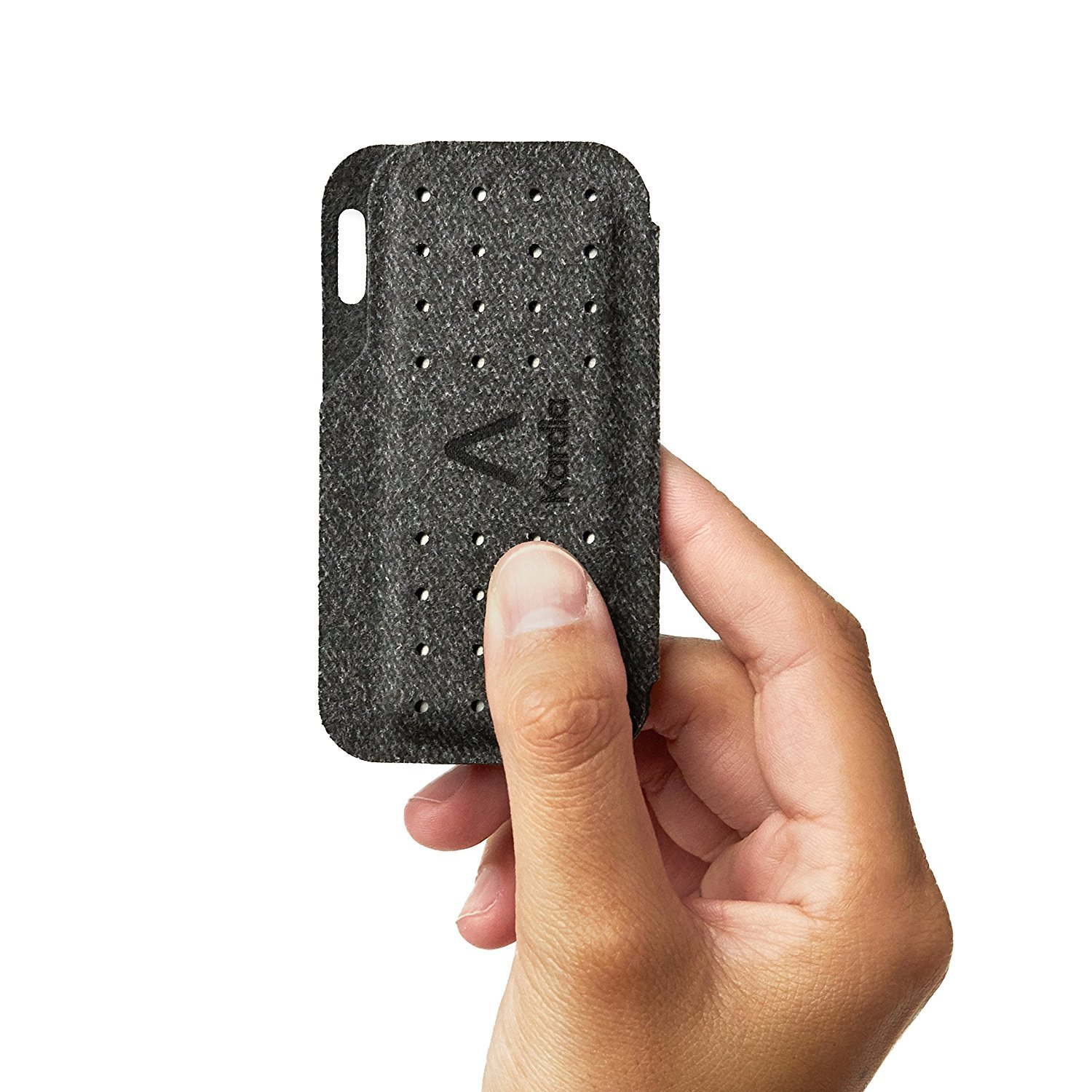 Alivecor® Kardia Mobile Carry Pod Carrying Case | Travel Case Features Magnetic Closure to Keep Kardia Device Safe On-The-Go | Fits in Pocket or Purse or Attaches to Keyring by AliveCor