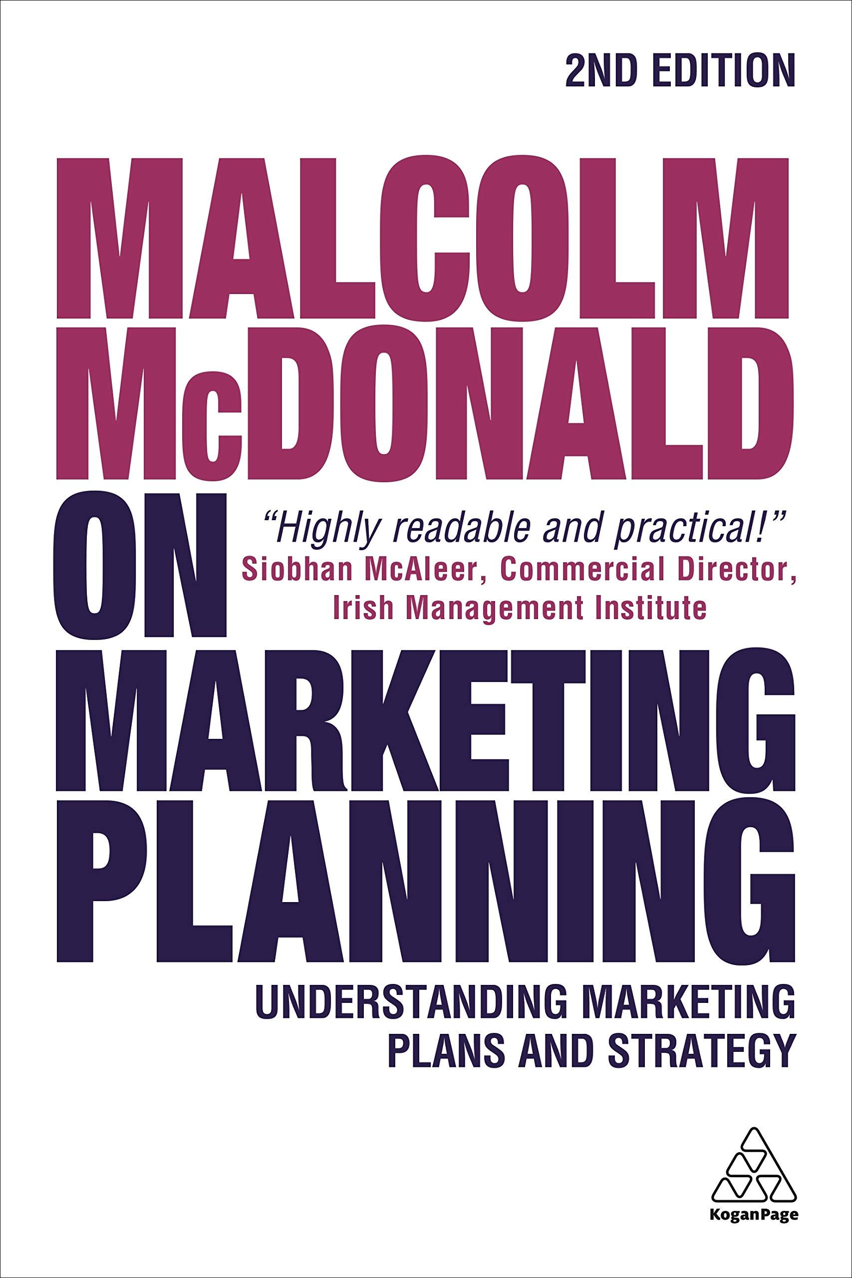 amazon malcolm mcdonald on marketing planning understanding