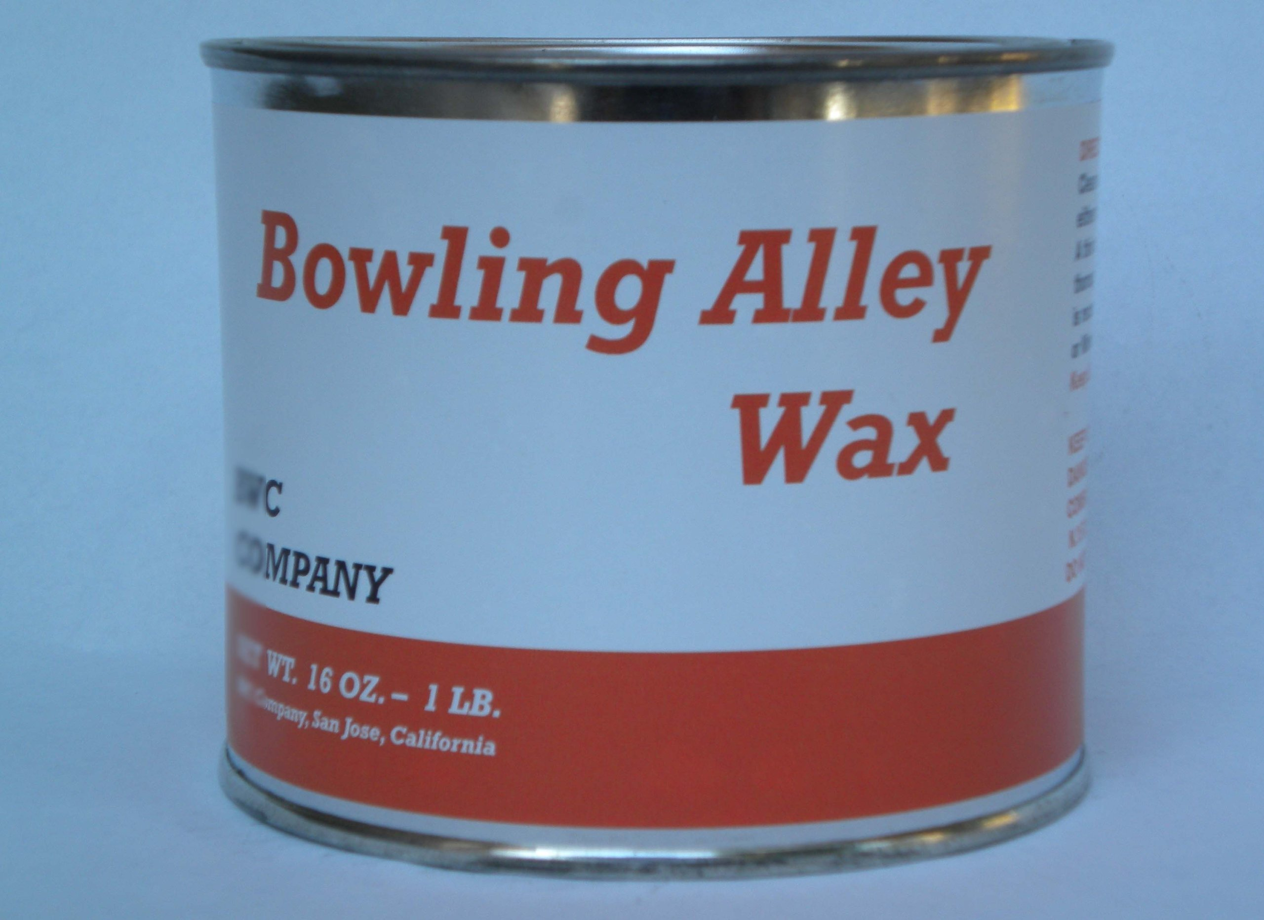 Bowling Alley Wax, Clear Paste Wax, 16 oz. Can by Bowling Alley Wax, White Diamond, Clear Paste Wax