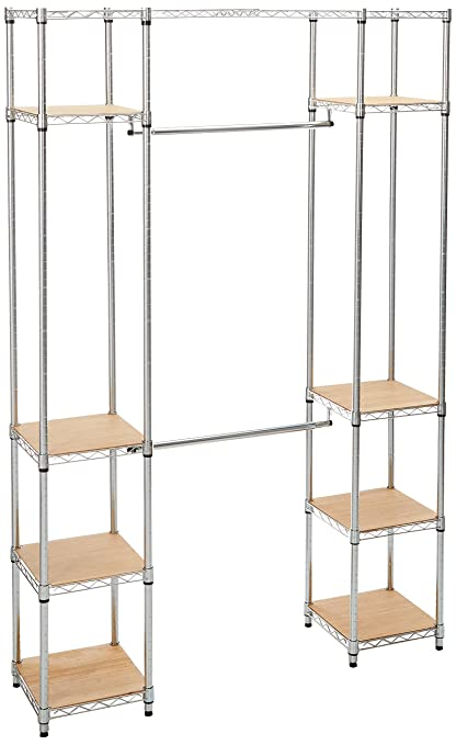 Exceptionnel Trinity Expandable Closet Organizer, Chrome