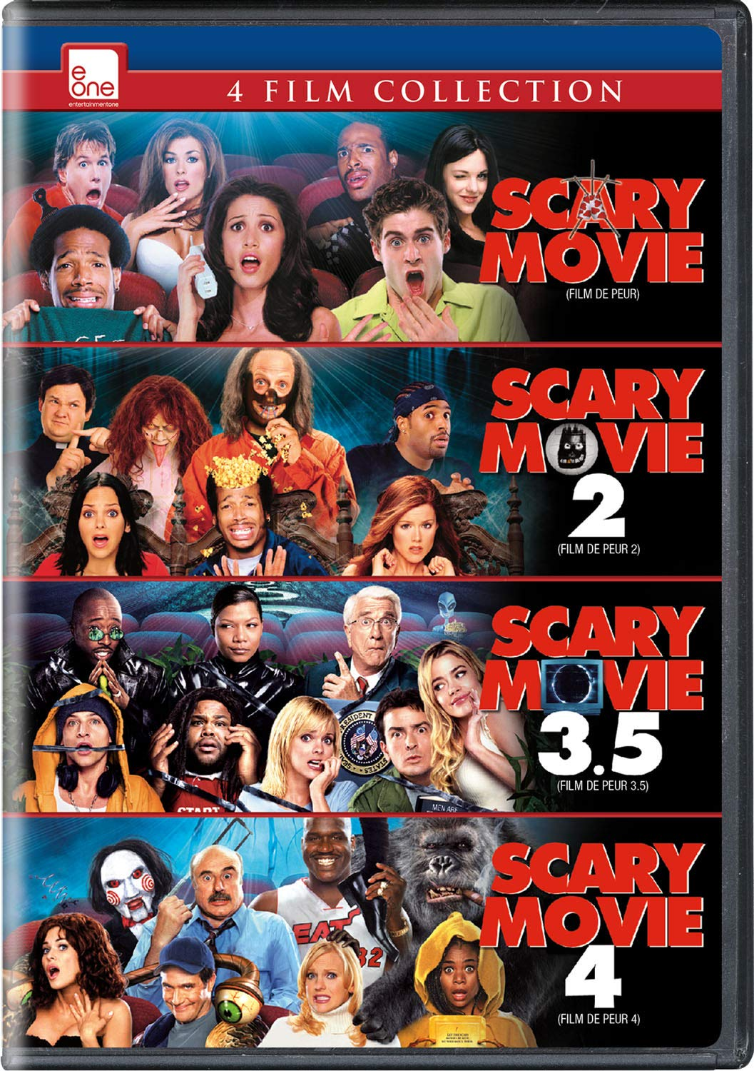 Amazon Com Scary Movie Franchise Coll Movies Tv