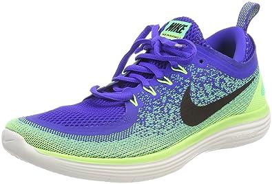 huge discount ee58a 2c767 Nike Free RN Distance 2, Chaussures de Running Hommes, (Bleu Souverain Noir