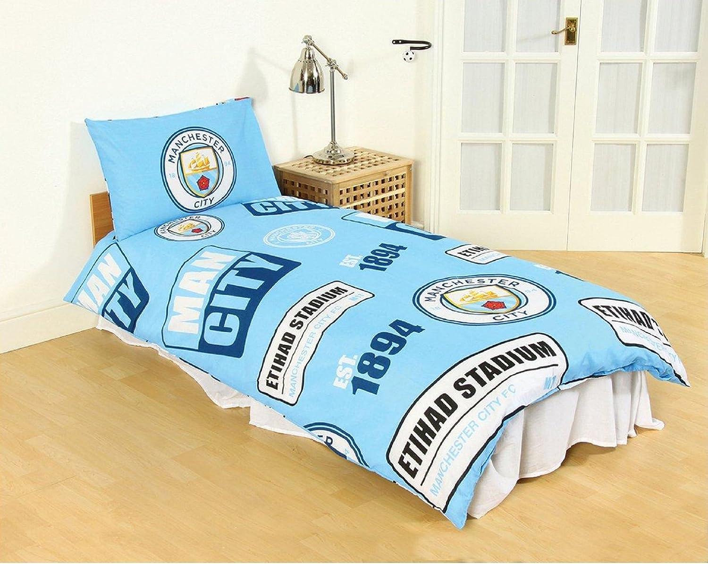 Manchester City F.C seule Housse de couette