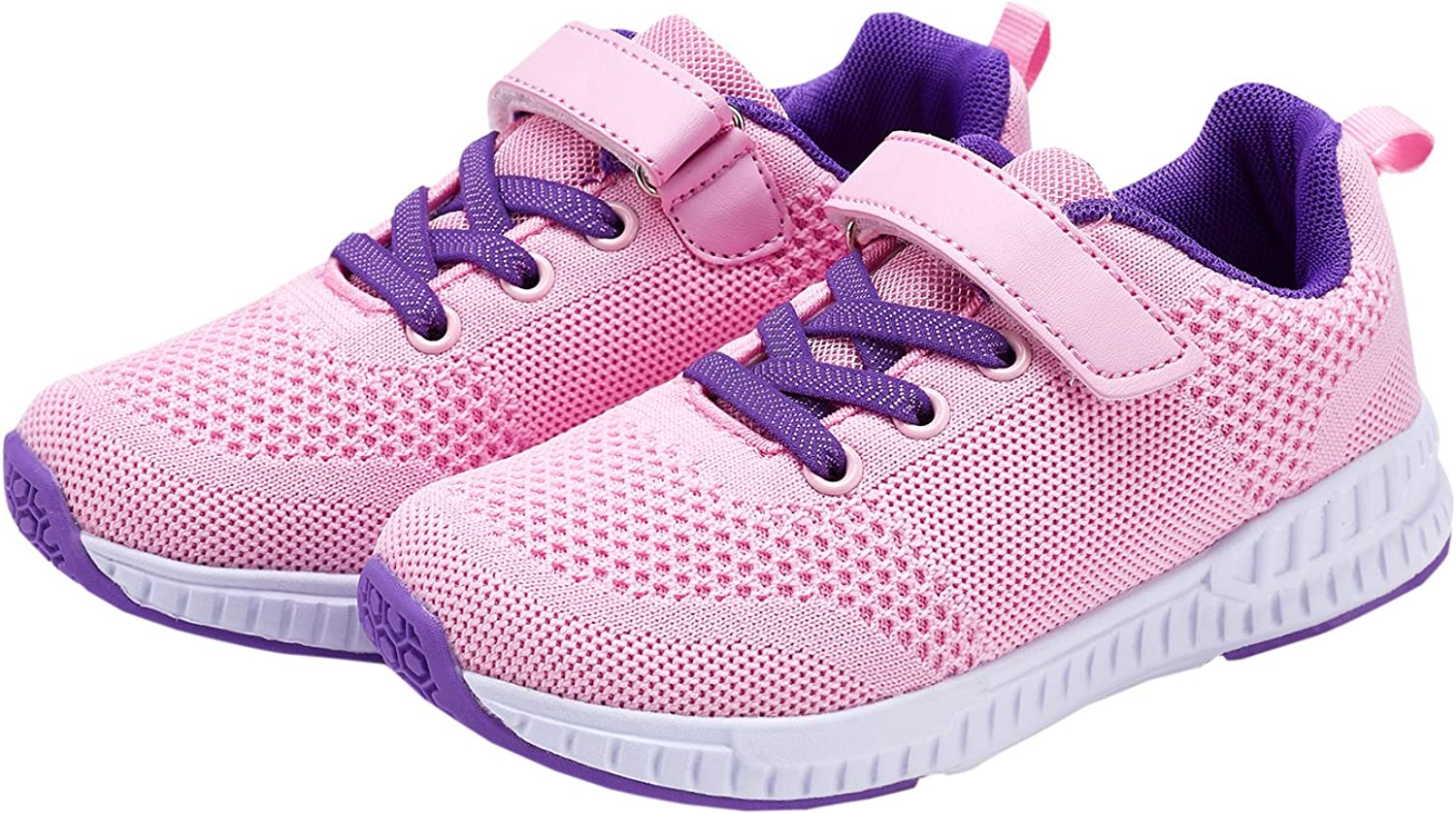DESERT RAM Kids Fashion Sneakers Lightweight Breathable Walking Shoes Comfort Casual Sport Shoes for Boys Girls