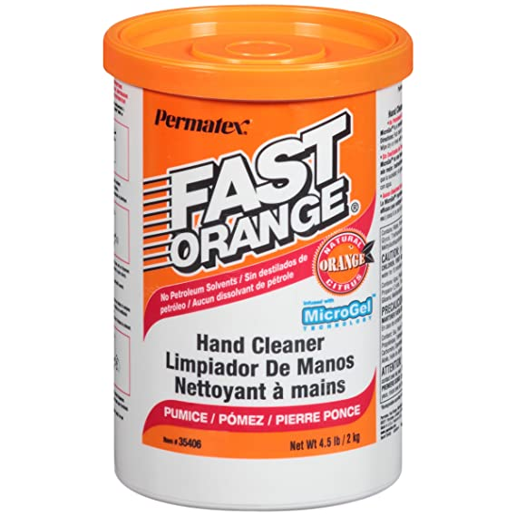 Amazon.com: Permatex 35406 Fast Orange Pumice Cream Hand Cleaner, 4.5 lbs: Automotive