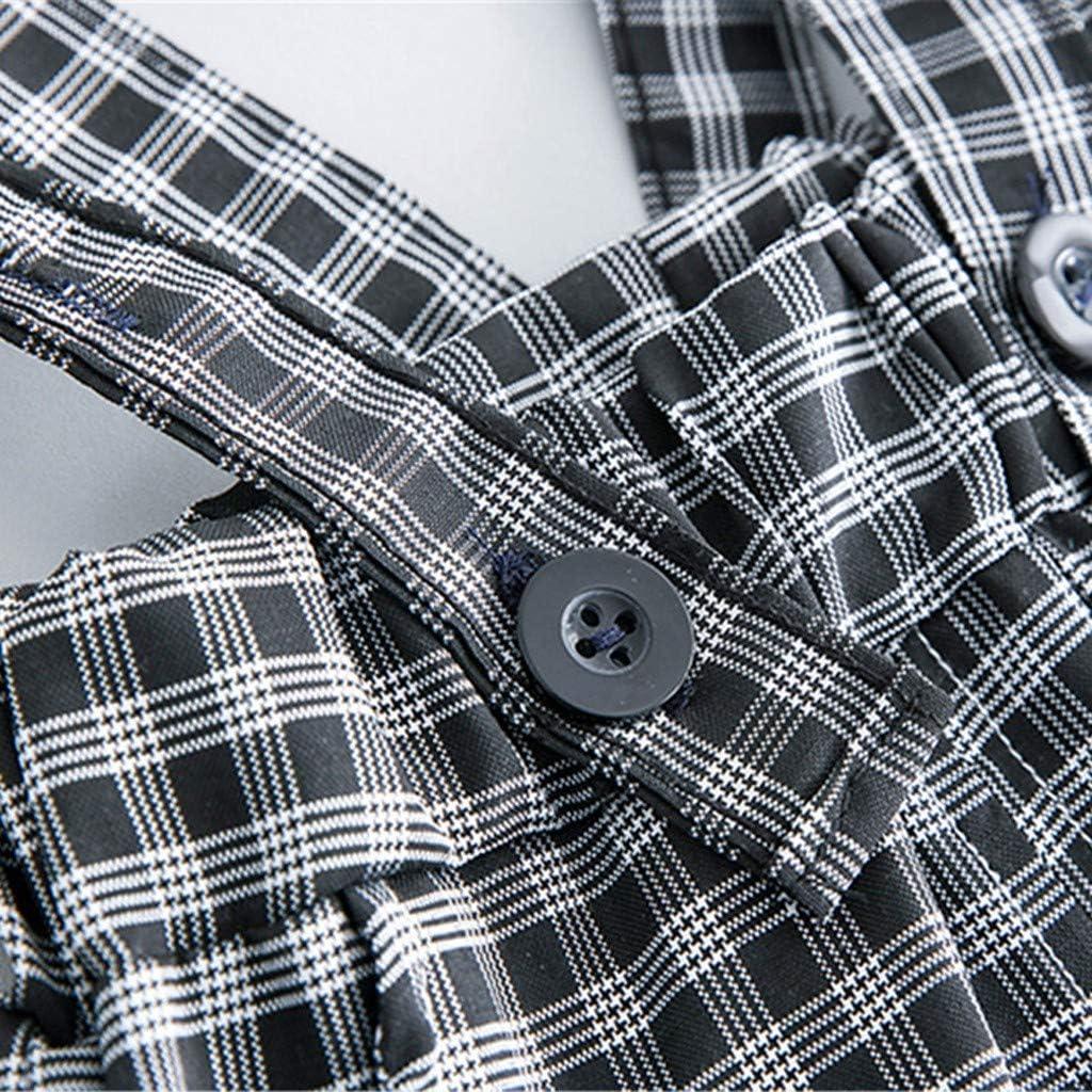 Xmiral Bebé Niños Lunares Camiseta Mono Pantalones de Cuadros ...