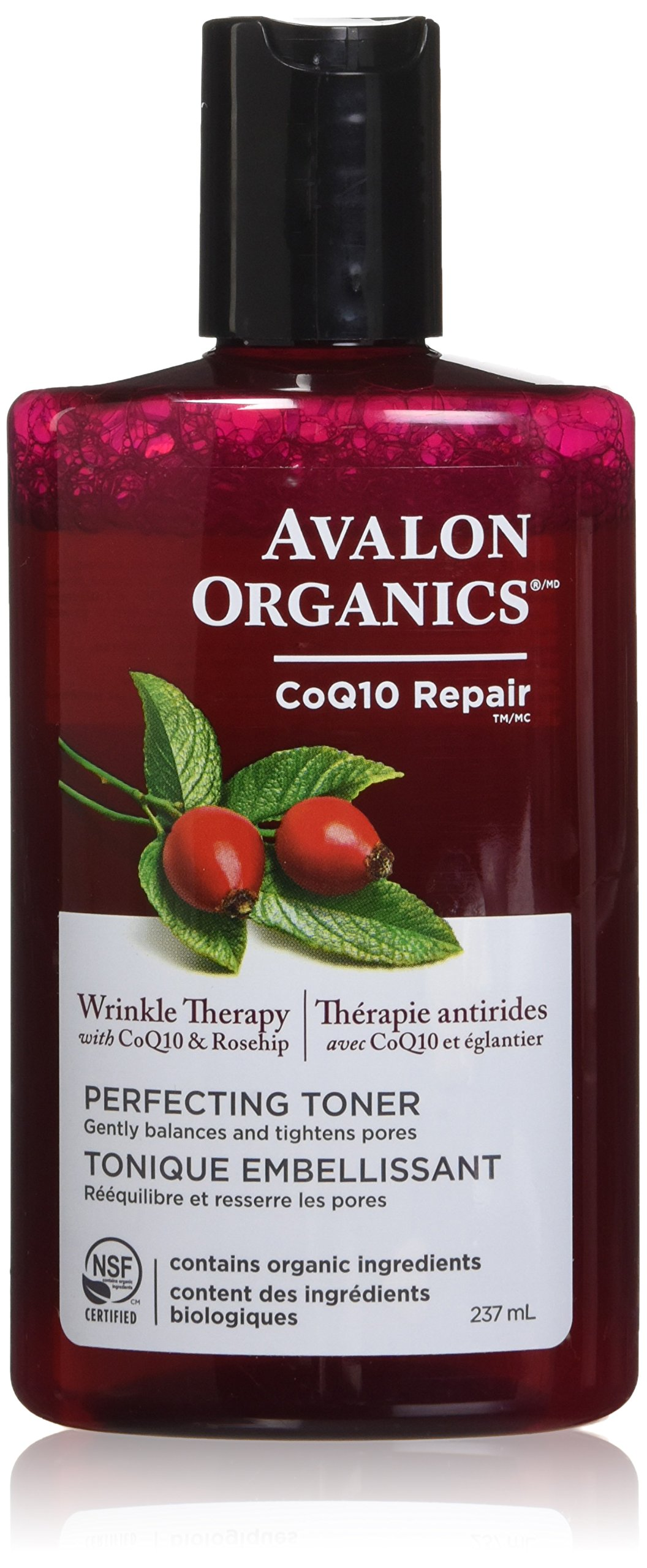 Avalon Organics CoQ10 Facial Cleansing Milk 8.50 oz (Pack of 2) Mario Badescu Revitalin Night Cream  29ml/1oz