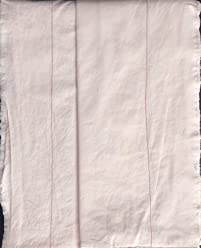 Piu Belle 4pc Sheet Set Solid Light Blush Pink with Hem Stitching and Shabby Chic Style