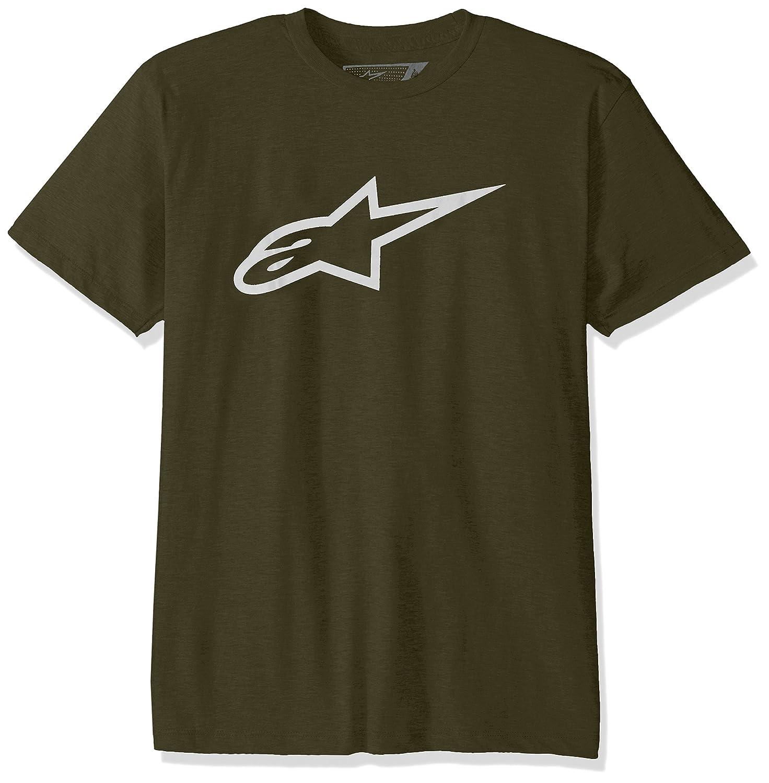 Alpinestars Herren T-Shirt Ageless Men& 039;s Logo T-Shirt Modern Fit Short Sleeve