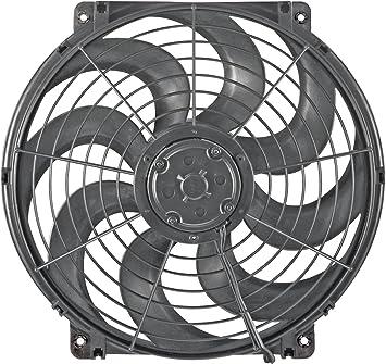 Flex-A-Lite 160 16/'/' Diameter Black Magic S-Blade Electric Fan