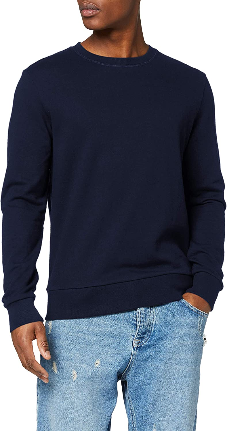 JACK & JONES Jjeholmen Sweat Crew Neck Noos, Suéter para Hombre
