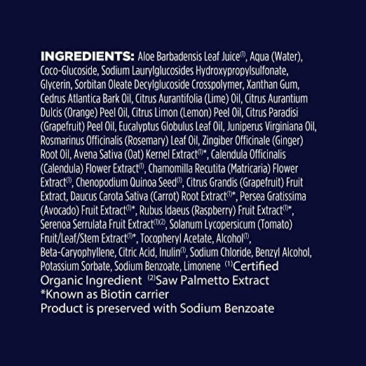 Avalon Organics - Champú Biotin B Complex (414 ml): Amazon.es: Industria, empresas y ciencia