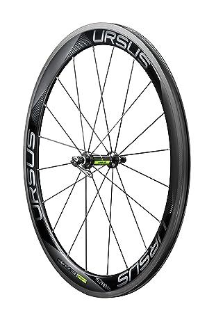 Ursus Miura C50 Rueda de Carretera para bicicleta de carretera delantero, negro: Amazon.es: Deportes y aire libre