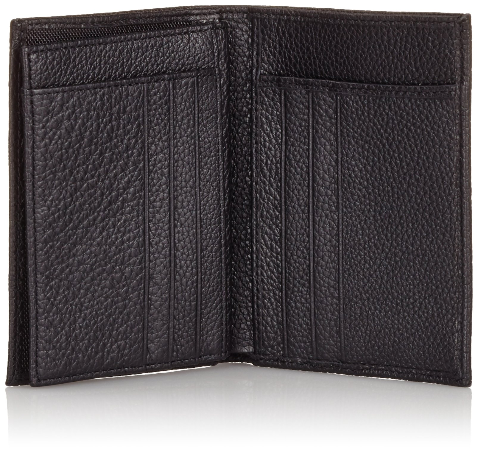 Piquadro Man's Wallet In Leather, Black 1129MO, One Size