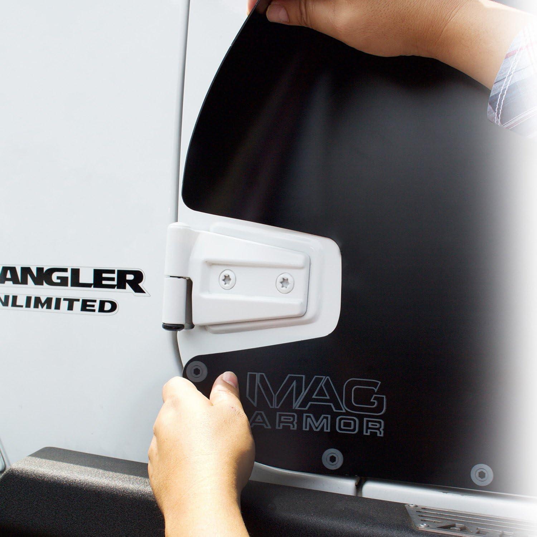 Smittybilt 76994 MAG Armor Magnetic Trail Skins for 2007-2018 Jeep Wrangler JKU