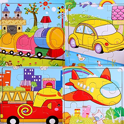 Puzzles Honesty Wooden Puzzles Board Baby Kids Children Early Educational Jigsaw Puzzle Toy Intelligence Development Toys Child Gift Present