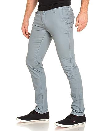 info pour 89b69 32c91 BLZ Jeans - Pantalon Chino Gris Clair Homme - Couleur: Gris ...