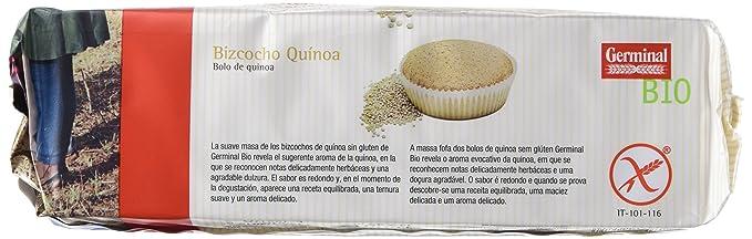 Germinal Bizcocho Sin Gluten - Paquete de 12 x 180 gr - Total: 2160 gr: Amazon.es: Alimentación y bebidas