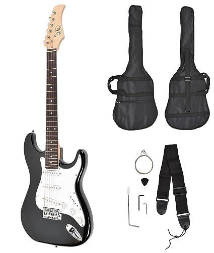 Set de guitarra eléctrica estilo de ST Pack (incluye set de accesorios: funda acolchada
