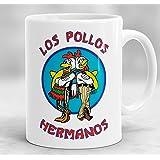 Los Pollos Hermanos Mug, Breaking Bad Mug, Breaking Bad Gift, Heisenberg Mug, Breaking Bad Inspired Coffee Mug Z50