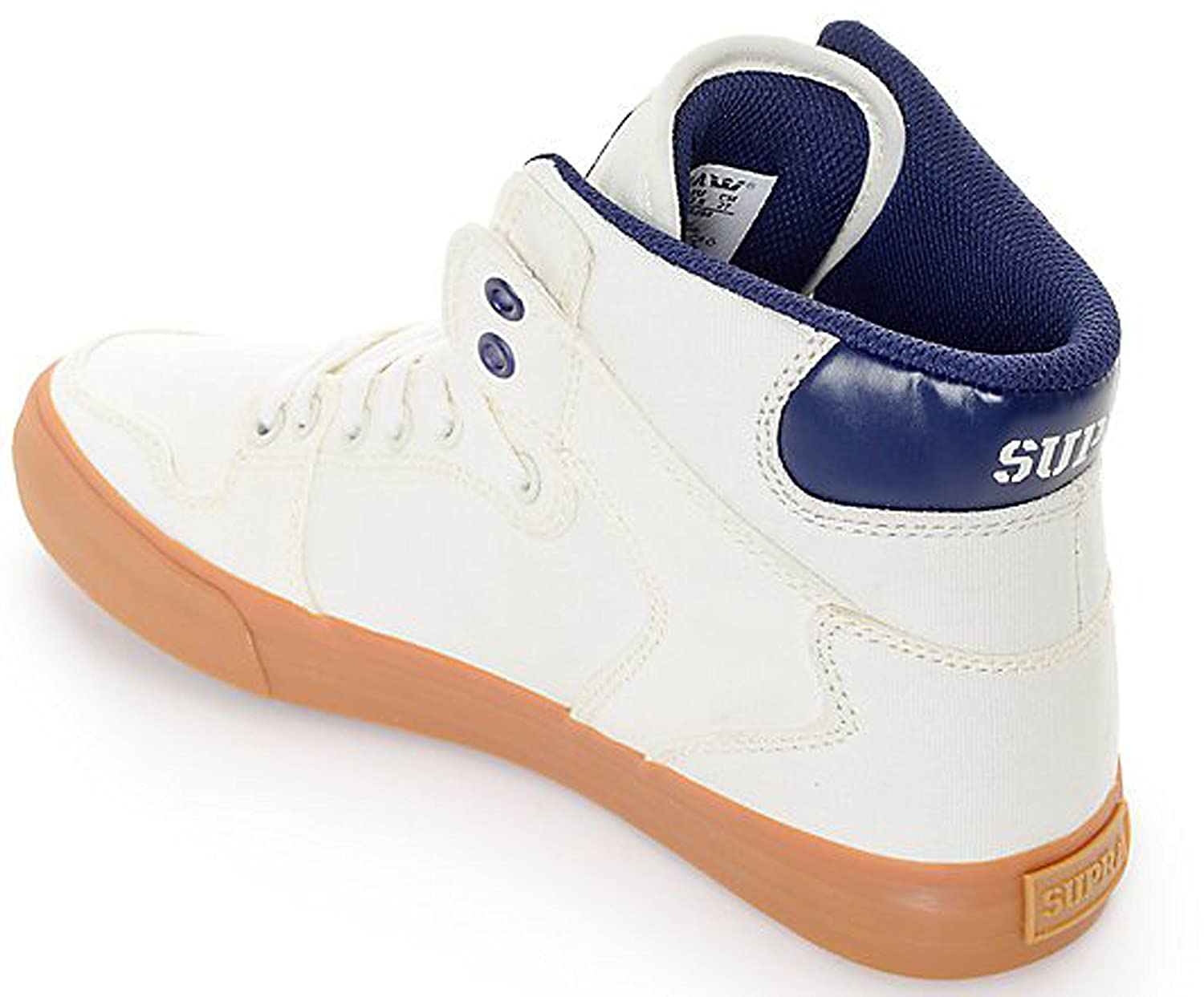 Supra Vaider LC Sneaker B011JIQLZE 13 M US|Off-white/Blue Nights/Gum
