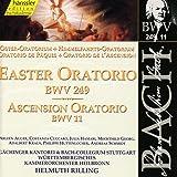 Bach: Easter Oratorio BWV 249; Ascension Oratorio BWV 11 (Edition Bachakademie Vol 77) /Rilling