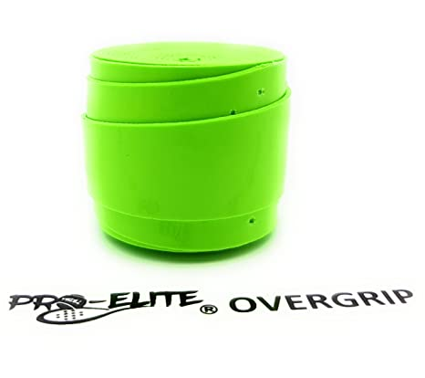 Overgrip Pro Elite Confort Liso Verde Flúor: Amazon.es ...
