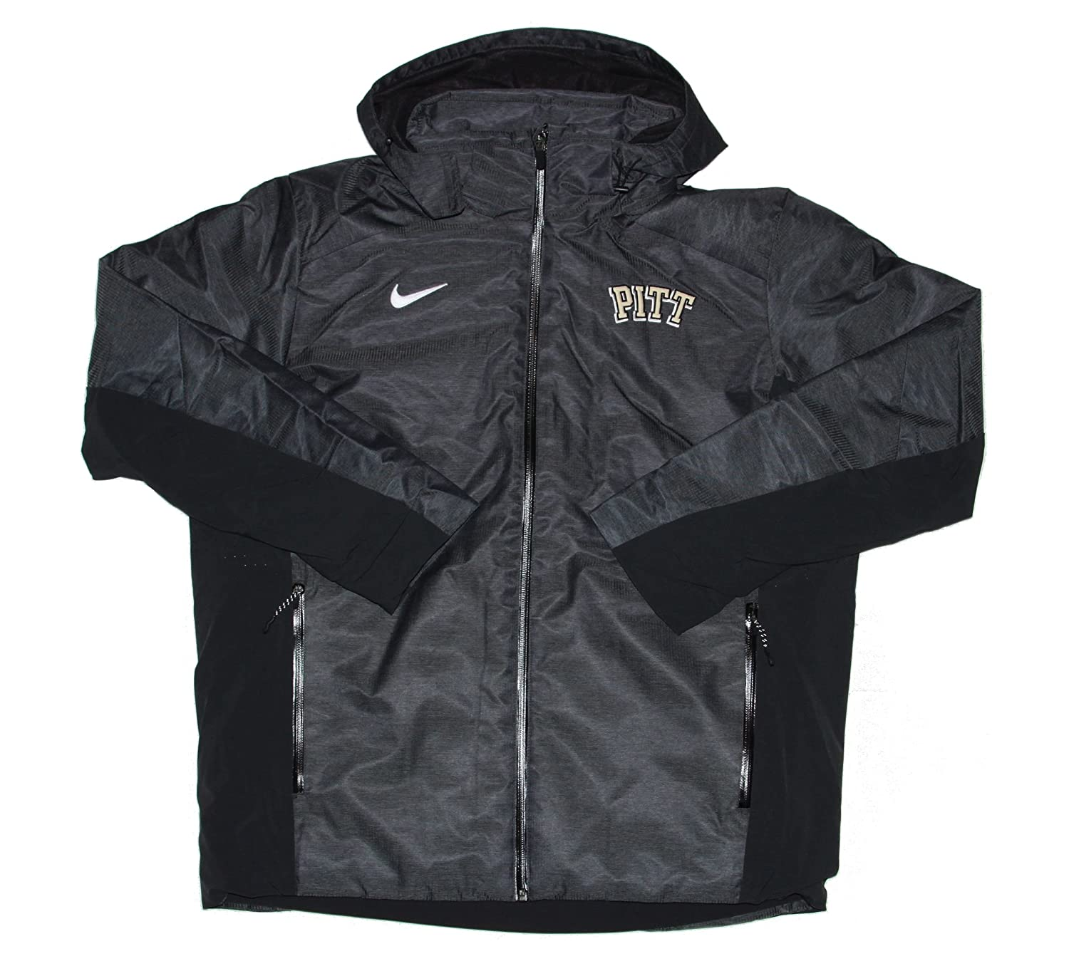 3551aa152ff2 Amazon.com  Nike Men s Pittsburgh Panthers Heavy Winter Jacket Coat Sz XL  Black  Clothing