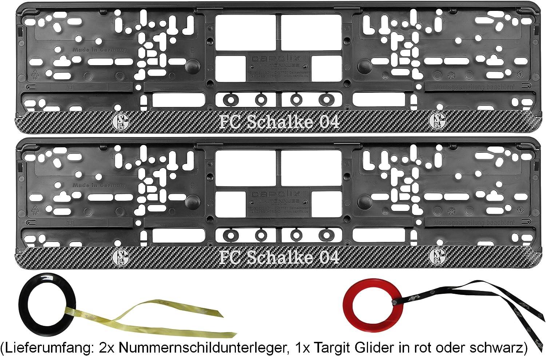 Fc Schalke 04 Nummernschildunterleger Carbon 3er Sport Freizeit