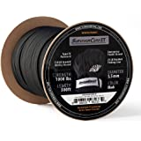 103 Feet with Integrated Fishing Line Fire Starter and Snare Wire. 3//16 Diameter Patented Military Type III 550 Paracord//Parachute Cord SurvivorCord Titan Zombie Green